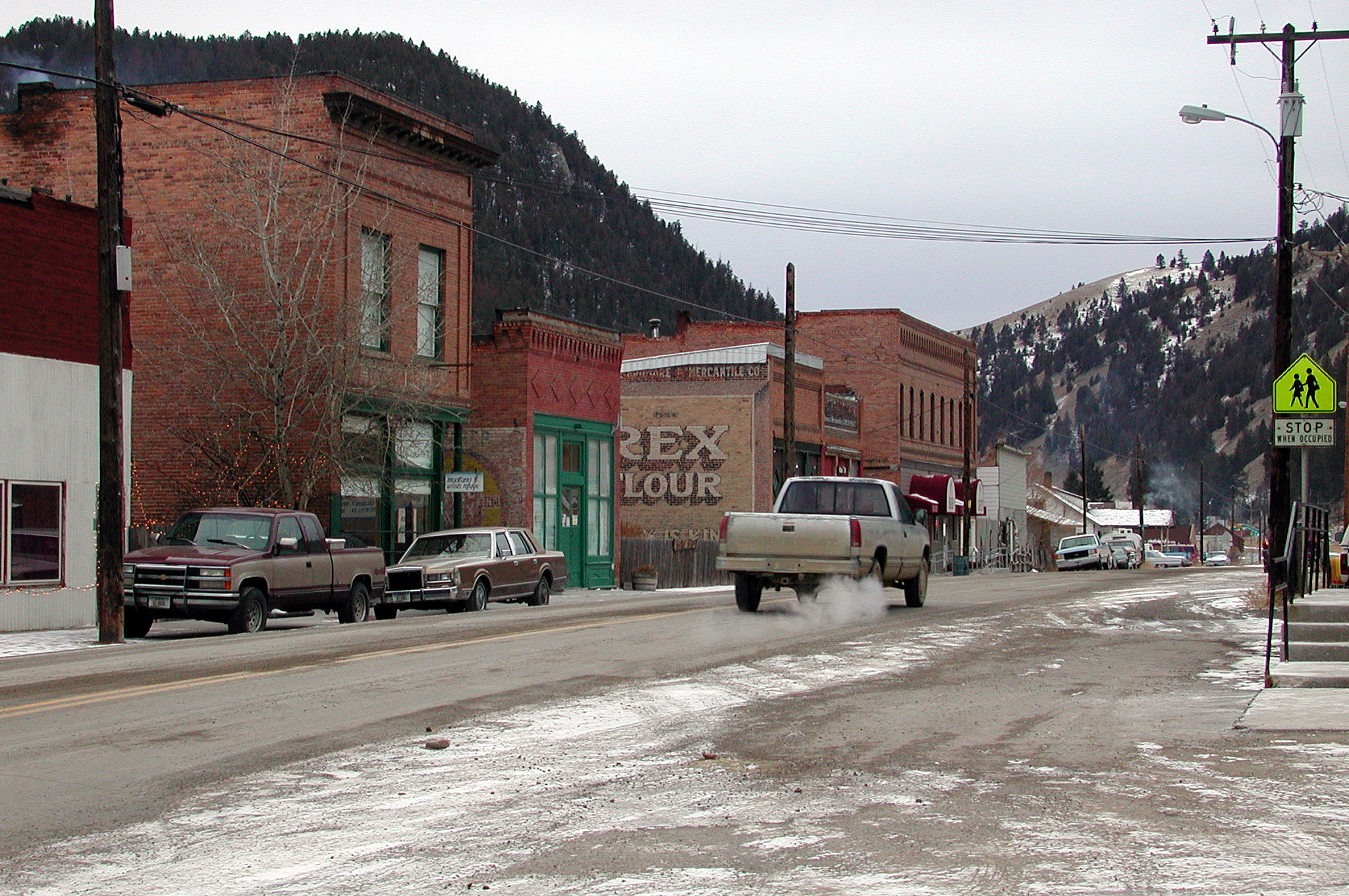 File Basin Street In Basin Montana Jpg Wikimedia Commons