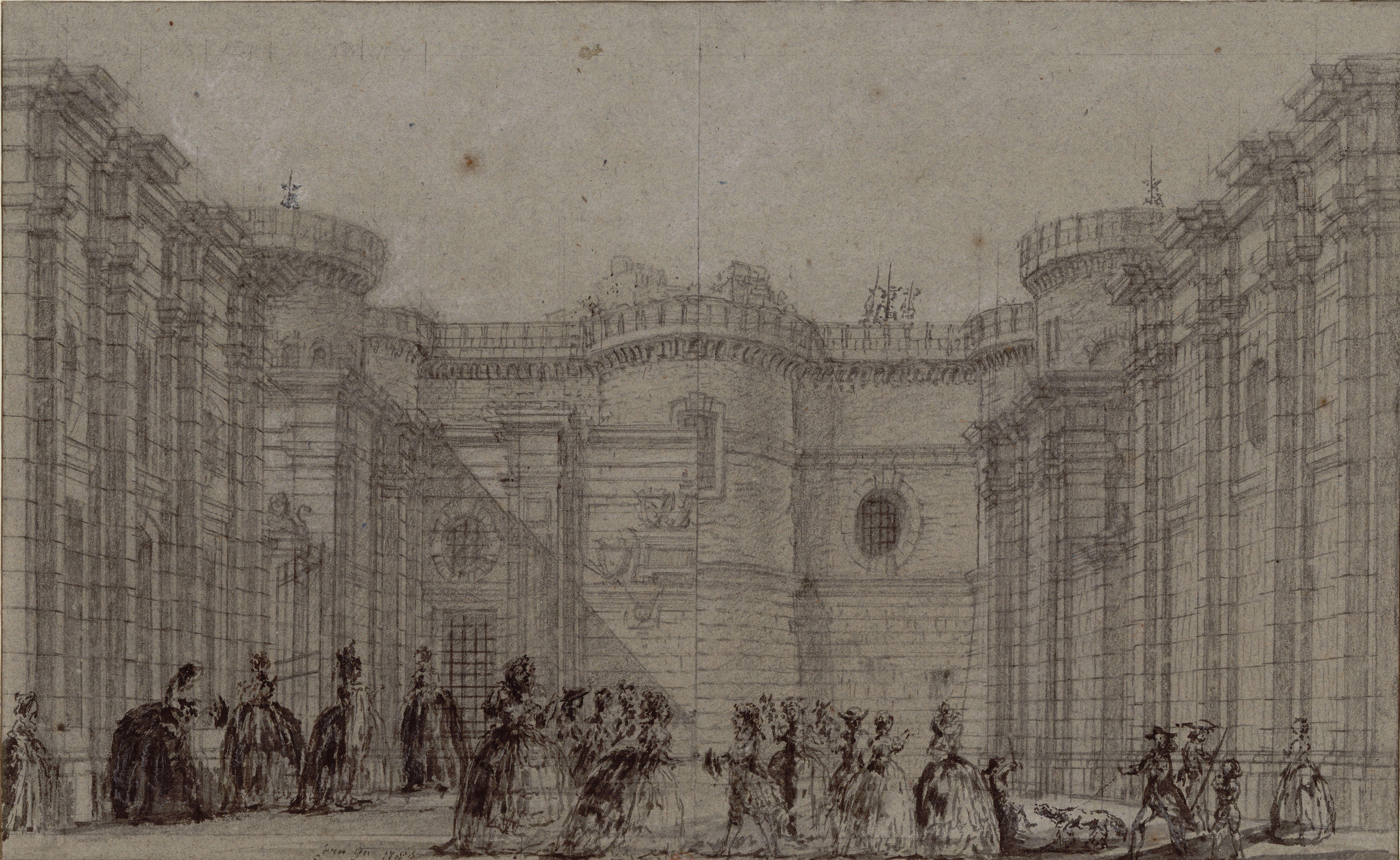 Большой Двор Бастилии