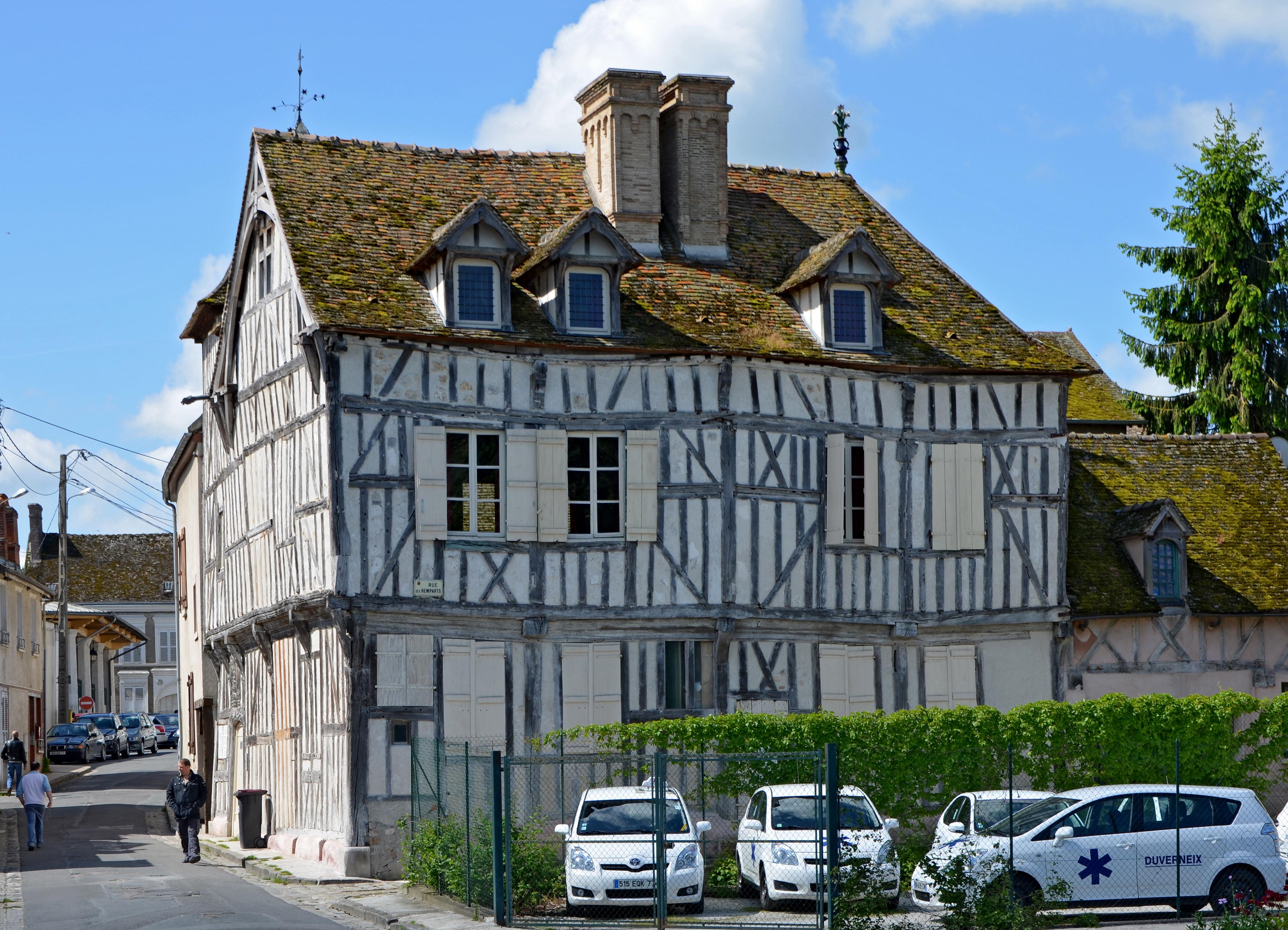 File bray sur seine maison dite de jeanne d 39 arc dpt seine for Constructeur maison seine et marne