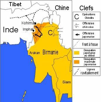 Campagne de Imphal et de Kohima.