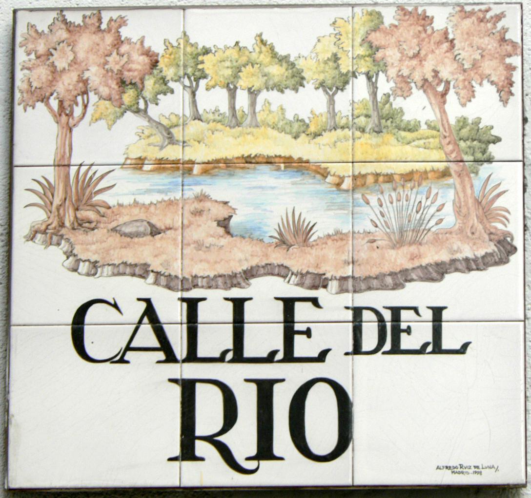 Calle del r o wikipedia la enciclopedia libre for Calle palma del rio malaga