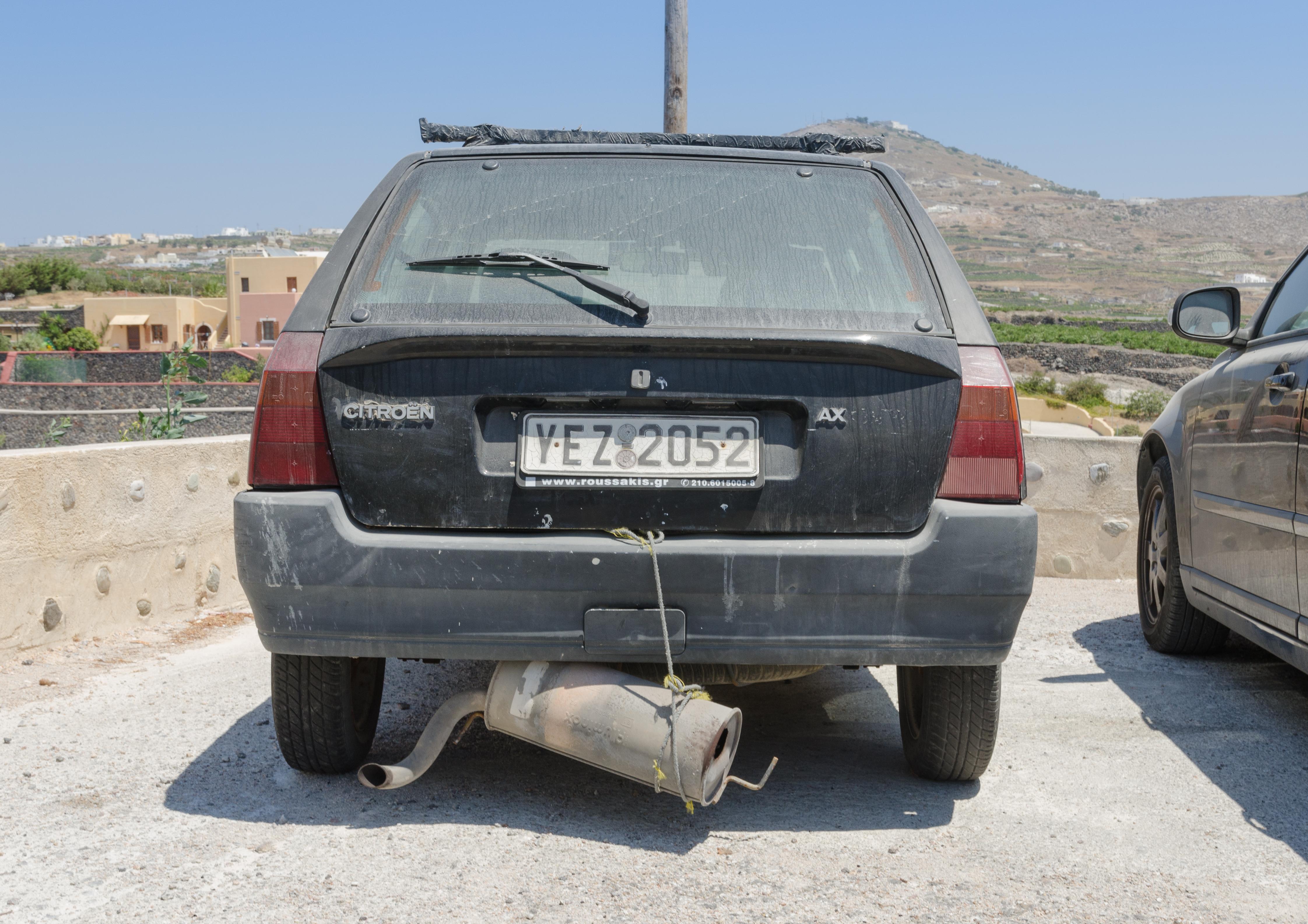 Car Exhaust Repair Tape