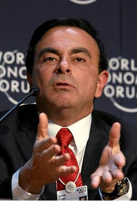 DAVOS/SWITZERLAND, 25JAN08 - Carlos Ghosn, Pre...