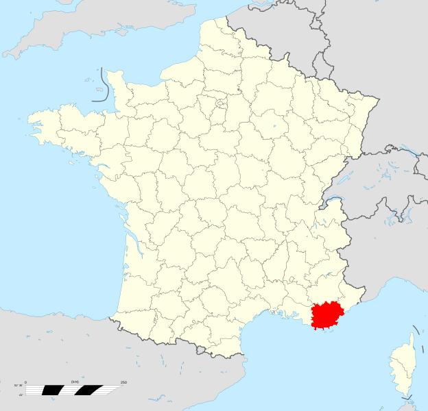 Carte De France Var | popkensburg