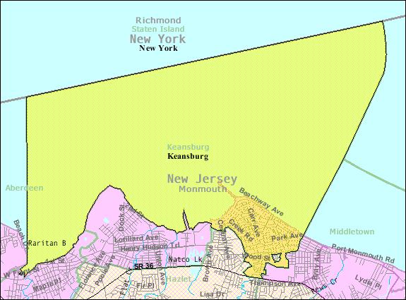 FileCensus Bureau Map Of Keansburg New Jerseypng
