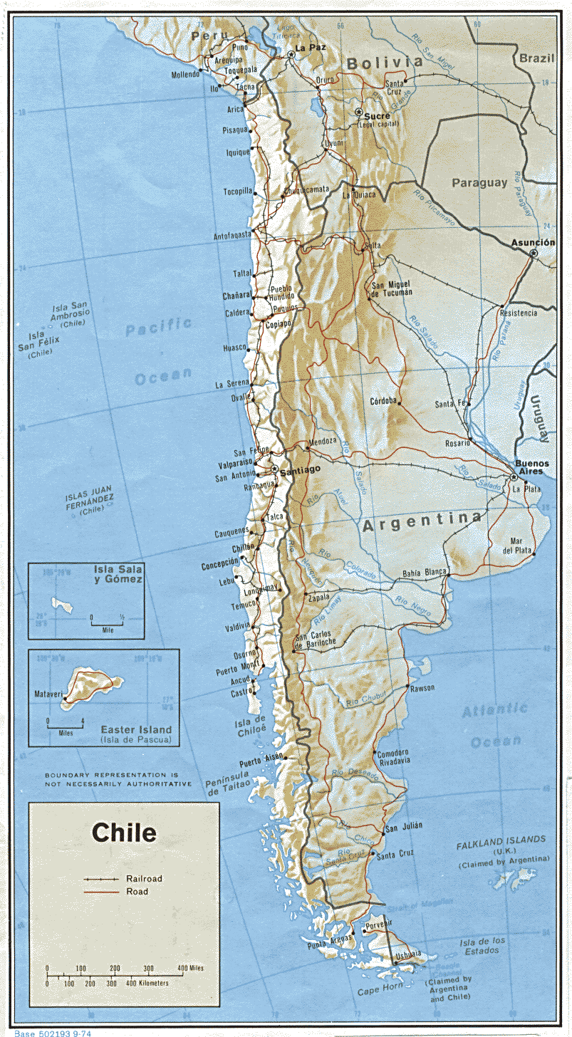 Transport In Chile Wikipedia - Argentina highway map