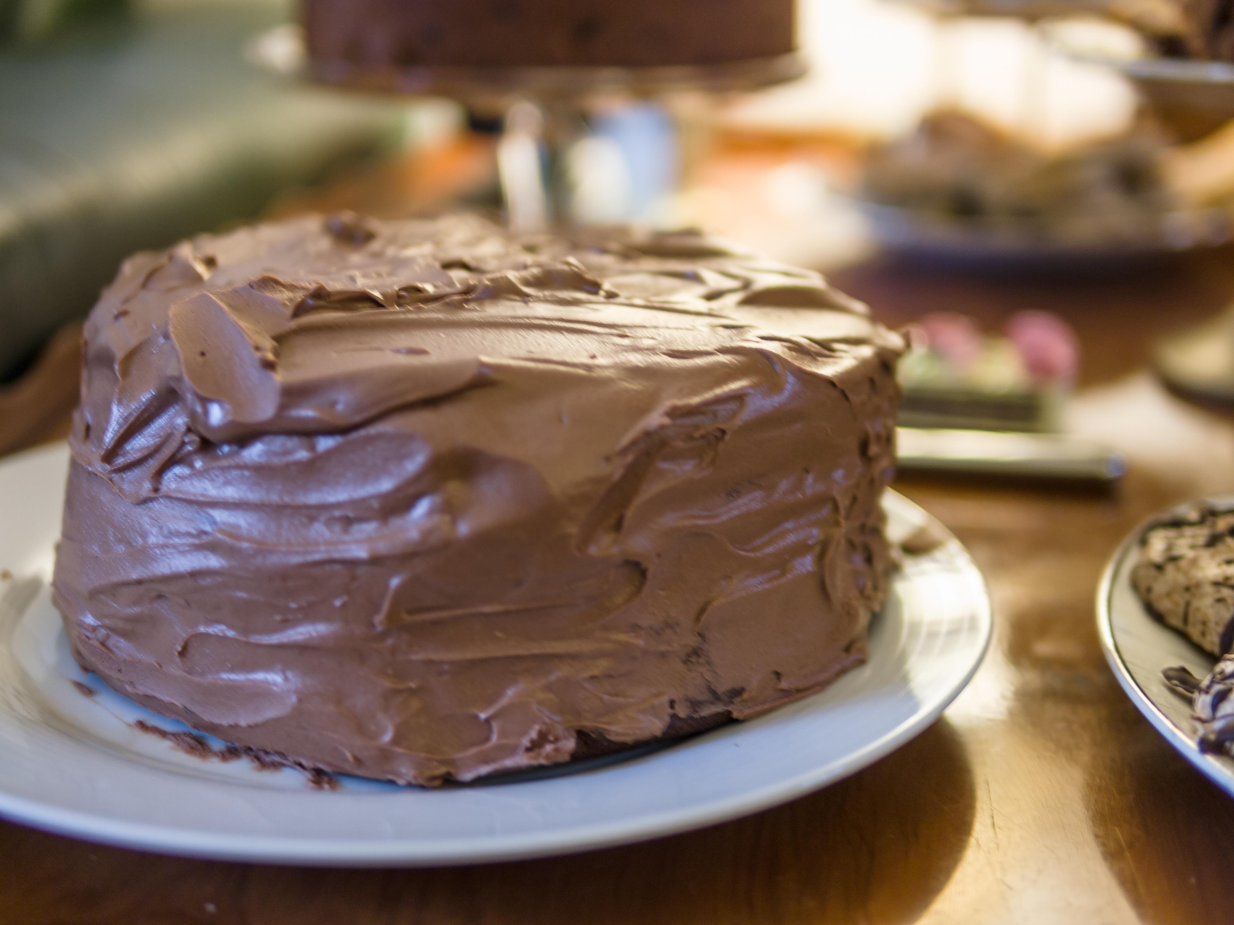 London Chocolate Cake Courgette Haymarket