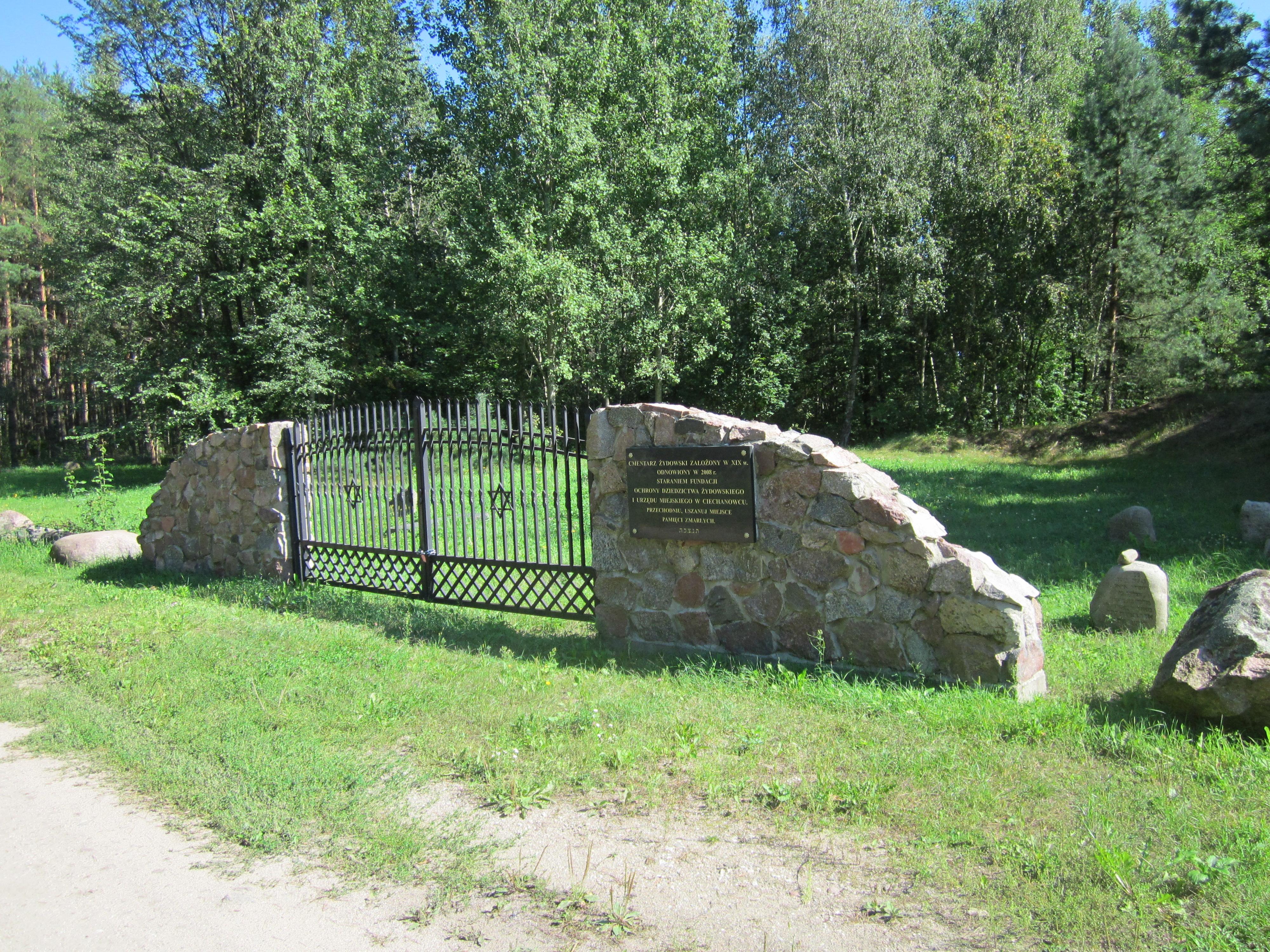 Cechanoveco Senosios žydų kapinės