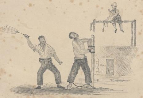 Convict flogging Tasmania