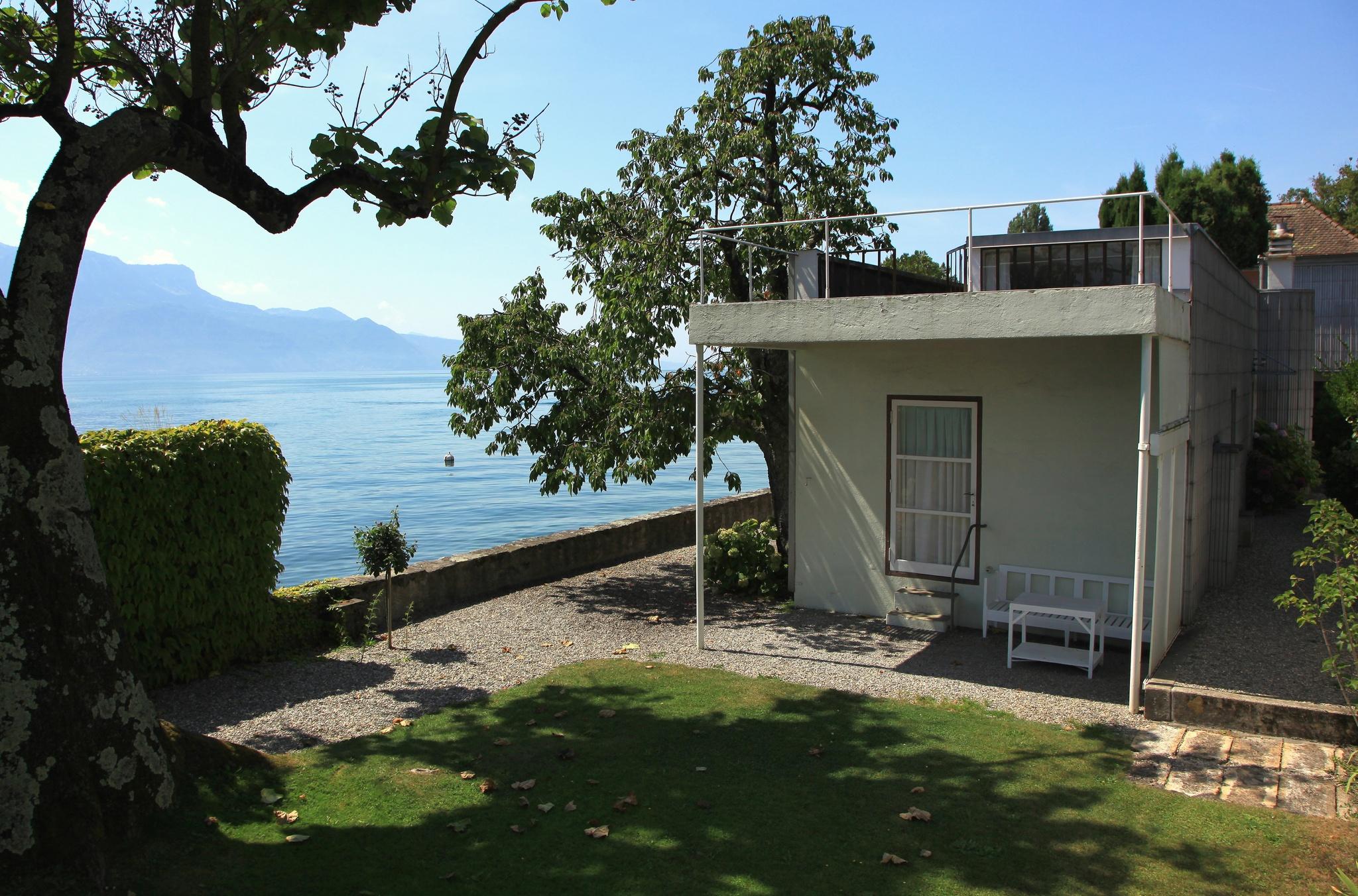 Villa le lac wikiwand - Le corbusier tetto giardino ...