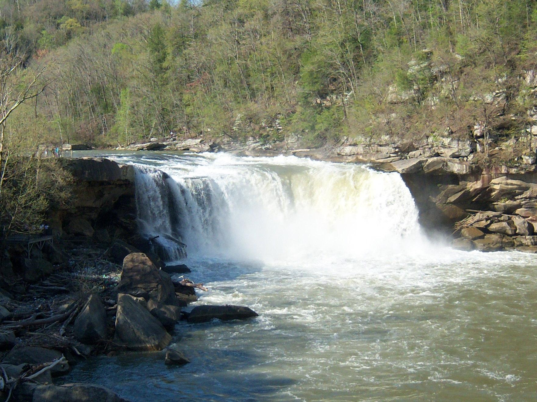 Cumberland Falls State Park Nature Preserve Parking Area