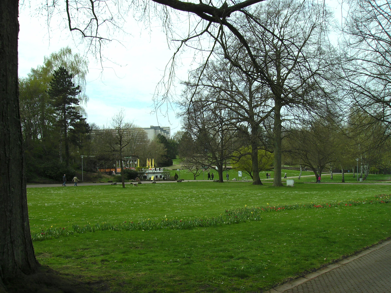 Jardin franco-allemand de Sarrebruck — Wikipédia