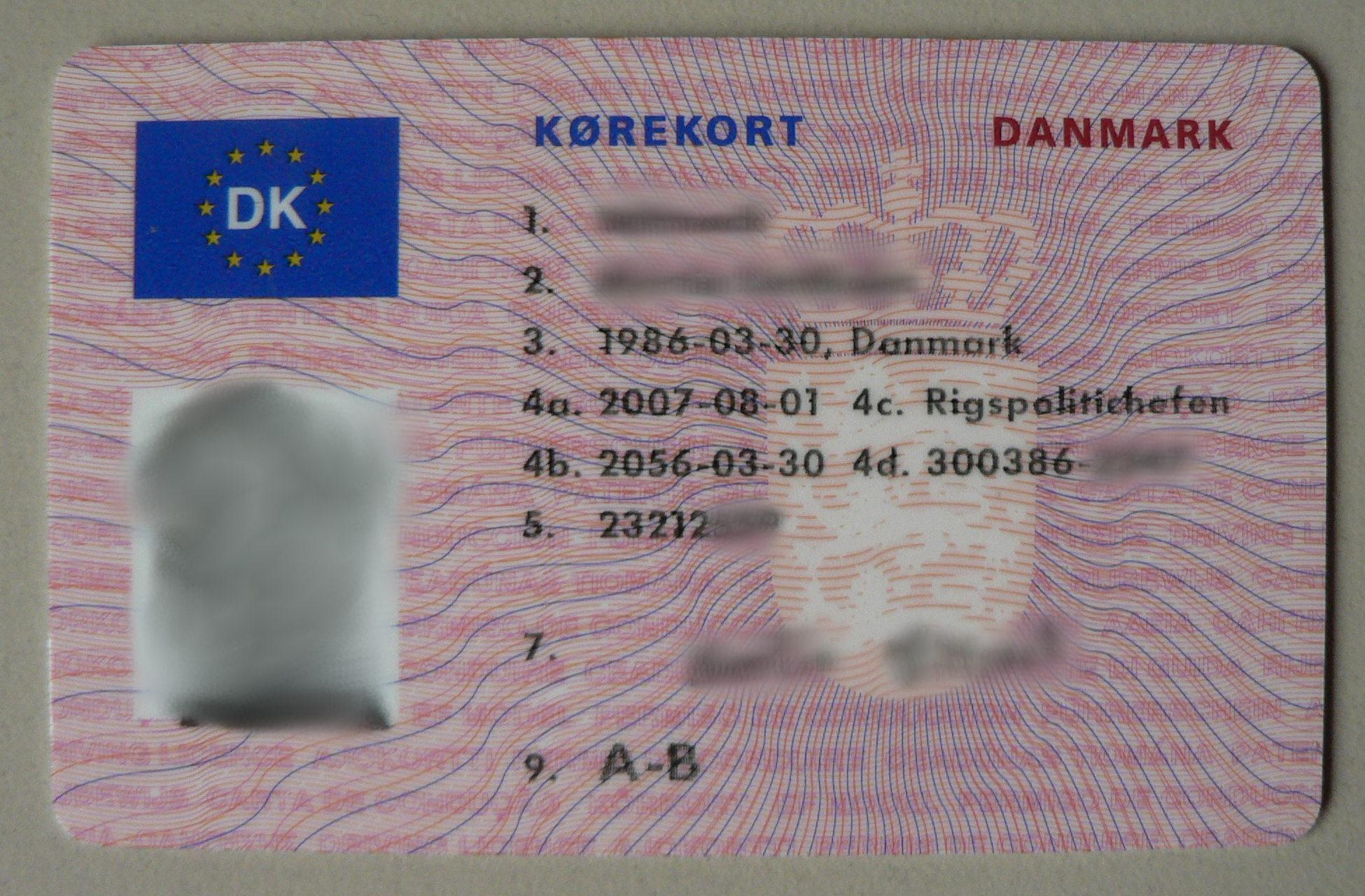 aldersgrænse for kørekort