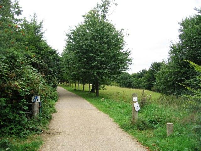 Disabled access to Wandlebury ring - geograph.org.uk - 1147647