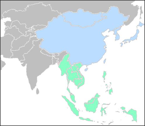 Géopolitique de l'Extrême-Orient East-Southeast
