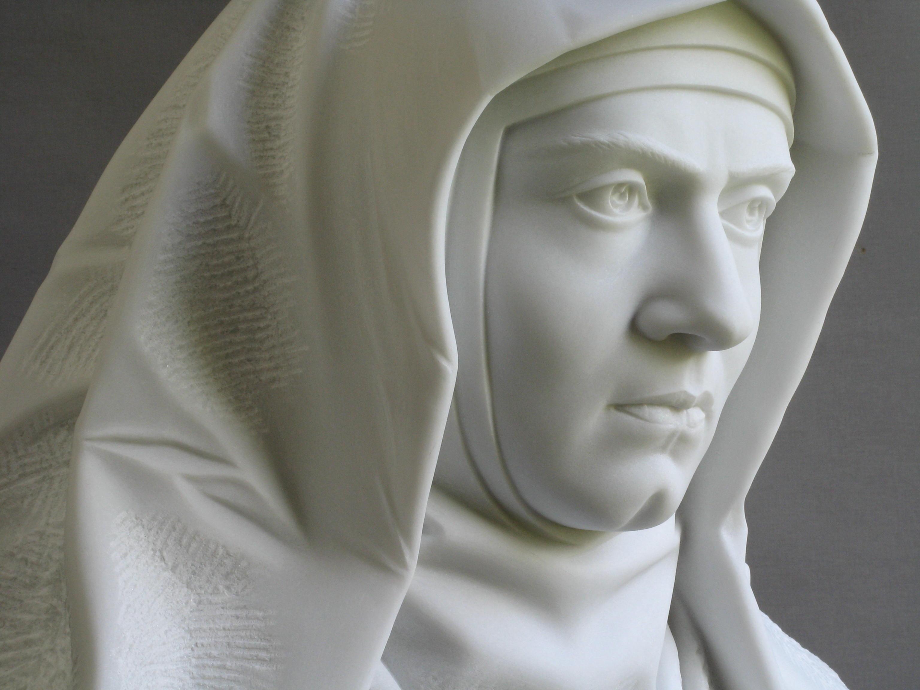 Edith Stein:Histoire d'une Carmélite d'origine juive exécutée.....    Edith_Stein_Halbprofil