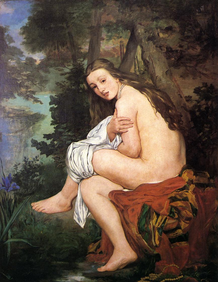http://upload.wikimedia.org/wikipedia/commons/e/ef/Edouard_Manet_Die_ueberraschte_Nymphe.jpg
