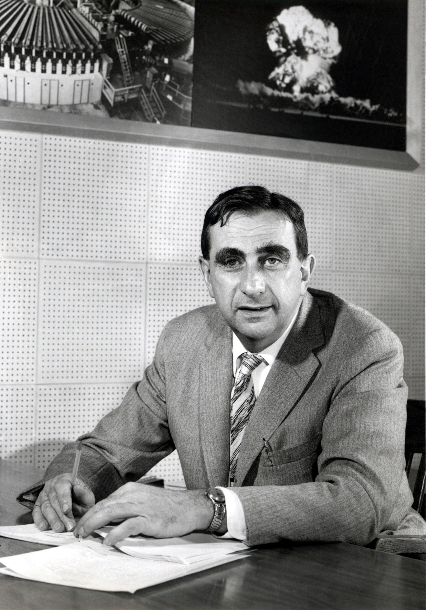 Portrait of Edward Teller