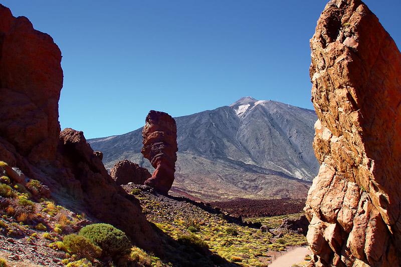 Paysage de montagne, El Teide, Tenerife