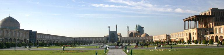 d'Imam-Plaz (Meidān-e Emām).
