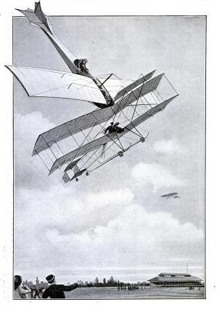 First air-plane collision 1910