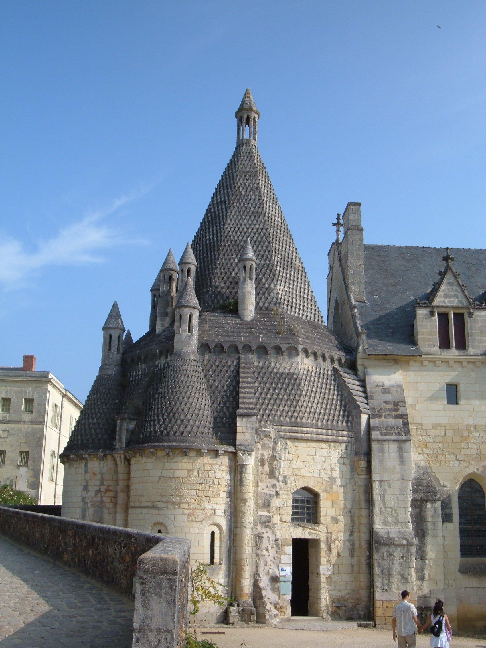 File Fontevraud Abbey Kitchen Exterior Jpg Wikimedia Commons