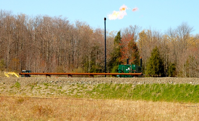 Fracking Site in Warren Center, PA 08
