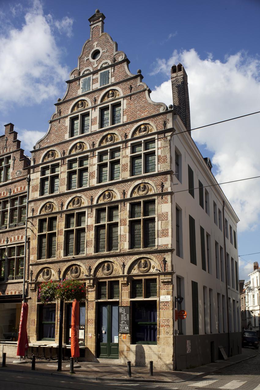 Burgstraat gent wikipedia for Huis met tuin gent