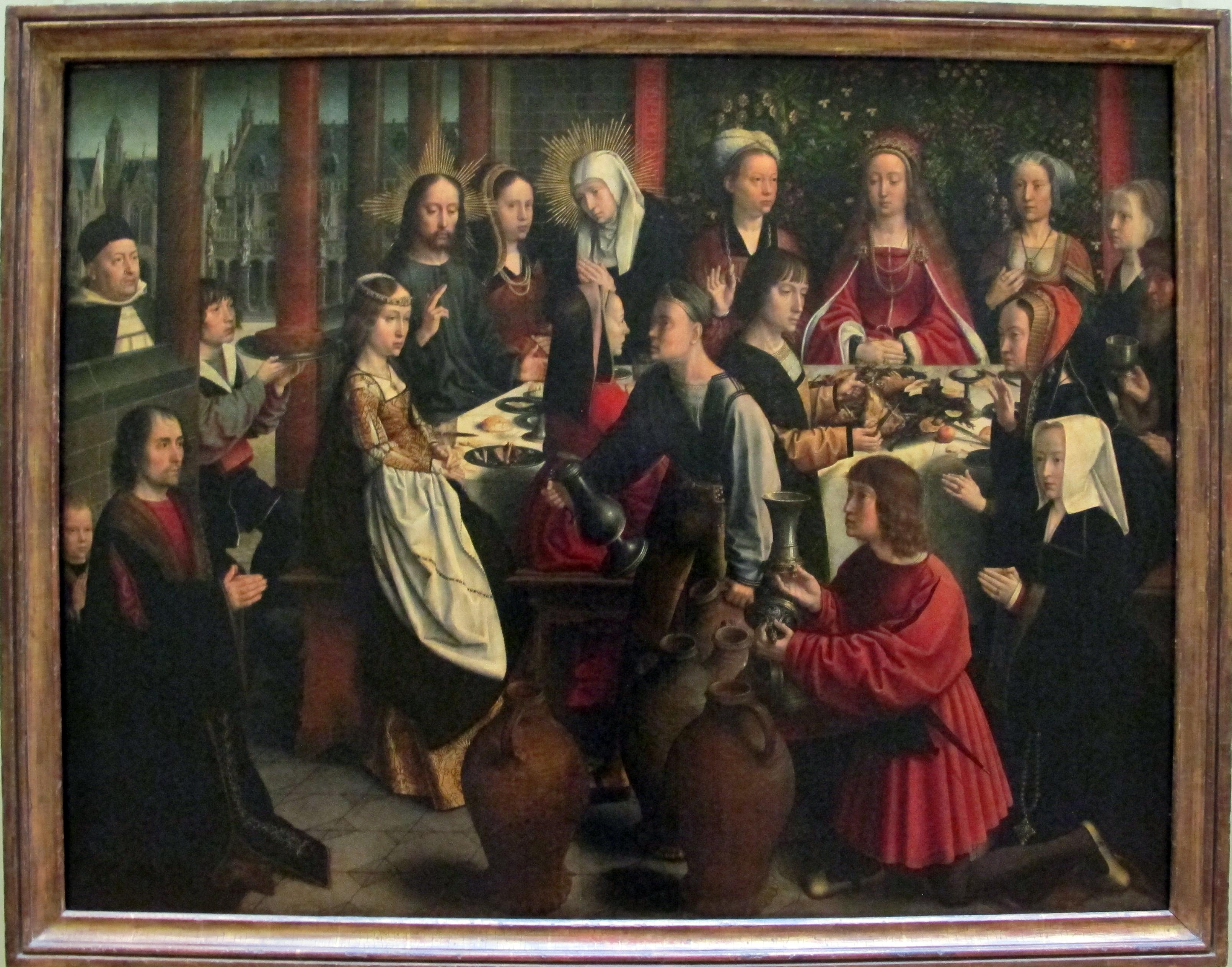 File:Gerard david, nozze di cana, 1495-1500 ca..JPG