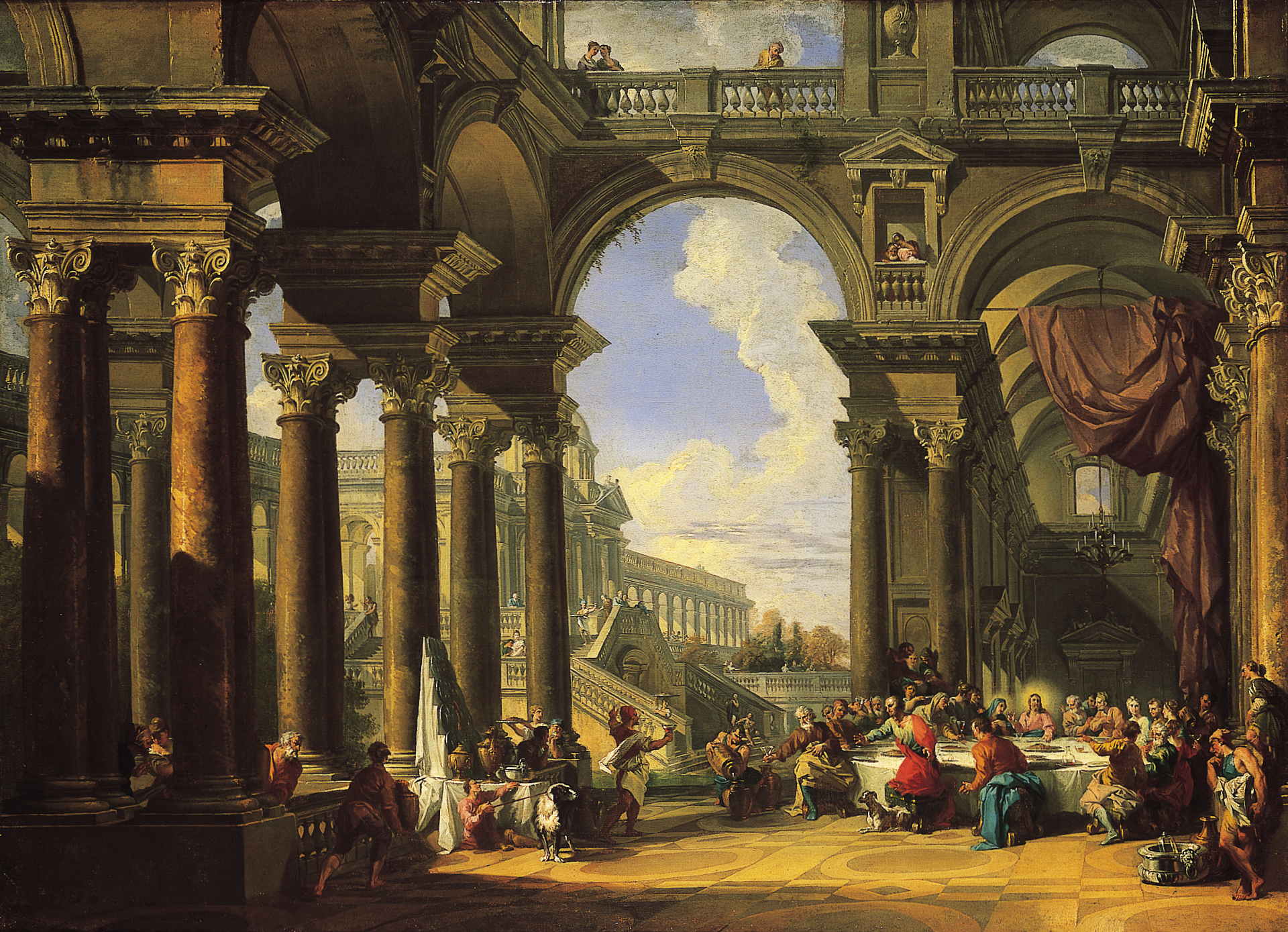 File:Giovanni Paolo Panini The Wedding at Cana, about 1725.jpg
