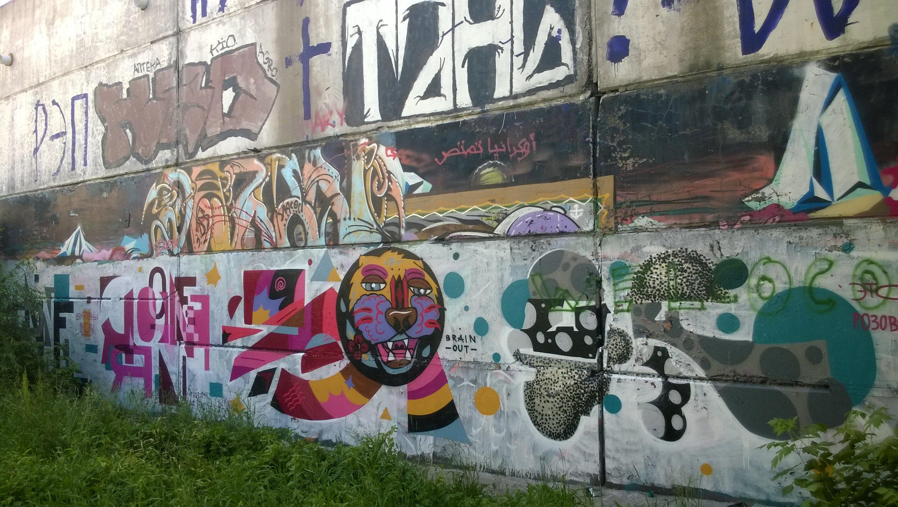 Novosibirsk graffiti 6