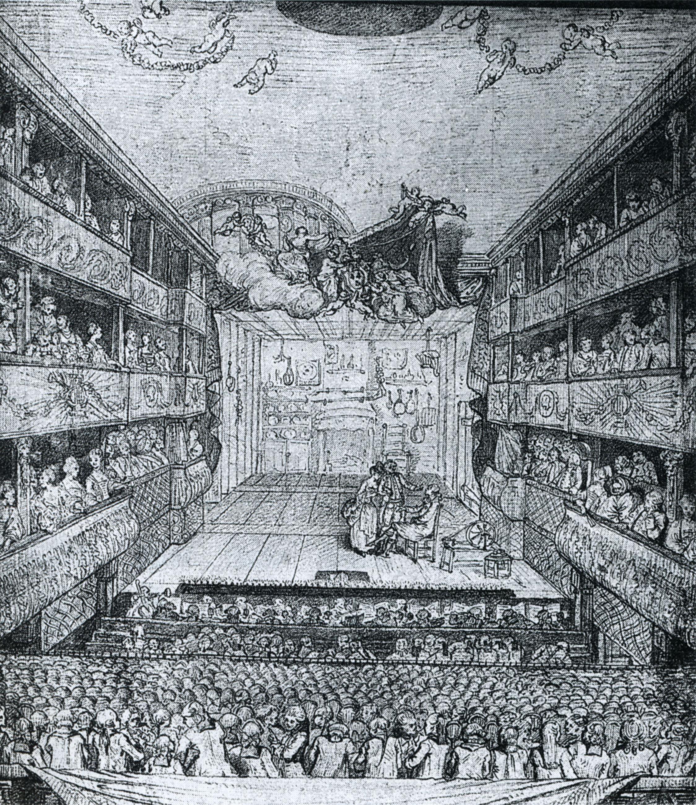 théâtre de l'hôtel de bourgogne