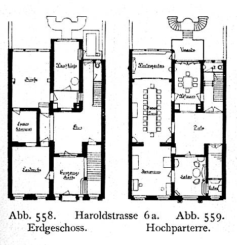 File:Haus Haroldstraße 6a In Düsseldorf, Erbaut Vor 1904 Von Den Architekten  Klein U0026