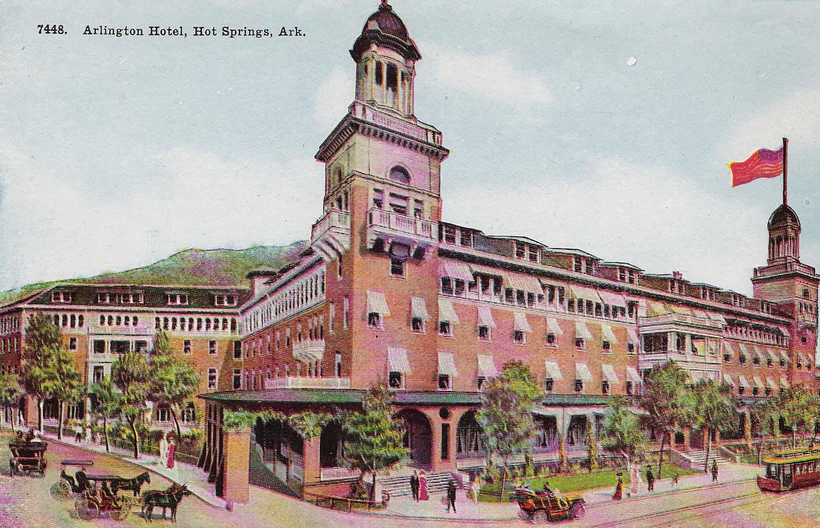 The Arlington Resort Hotel And Spa Hot Springs Ar
