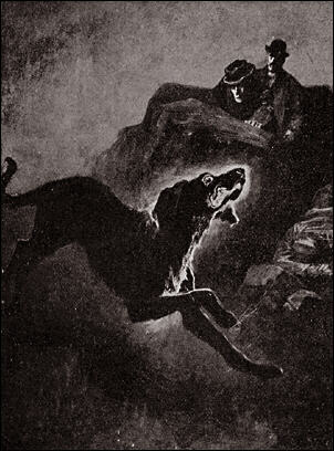 https://upload.wikimedia.org/wikipedia/commons/e/ef/Houn-53_-_The_coal-black_Hound_%28Hound_of_Baskervilles%29.jpg