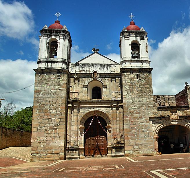 Church                     of San Pablo Huitzo