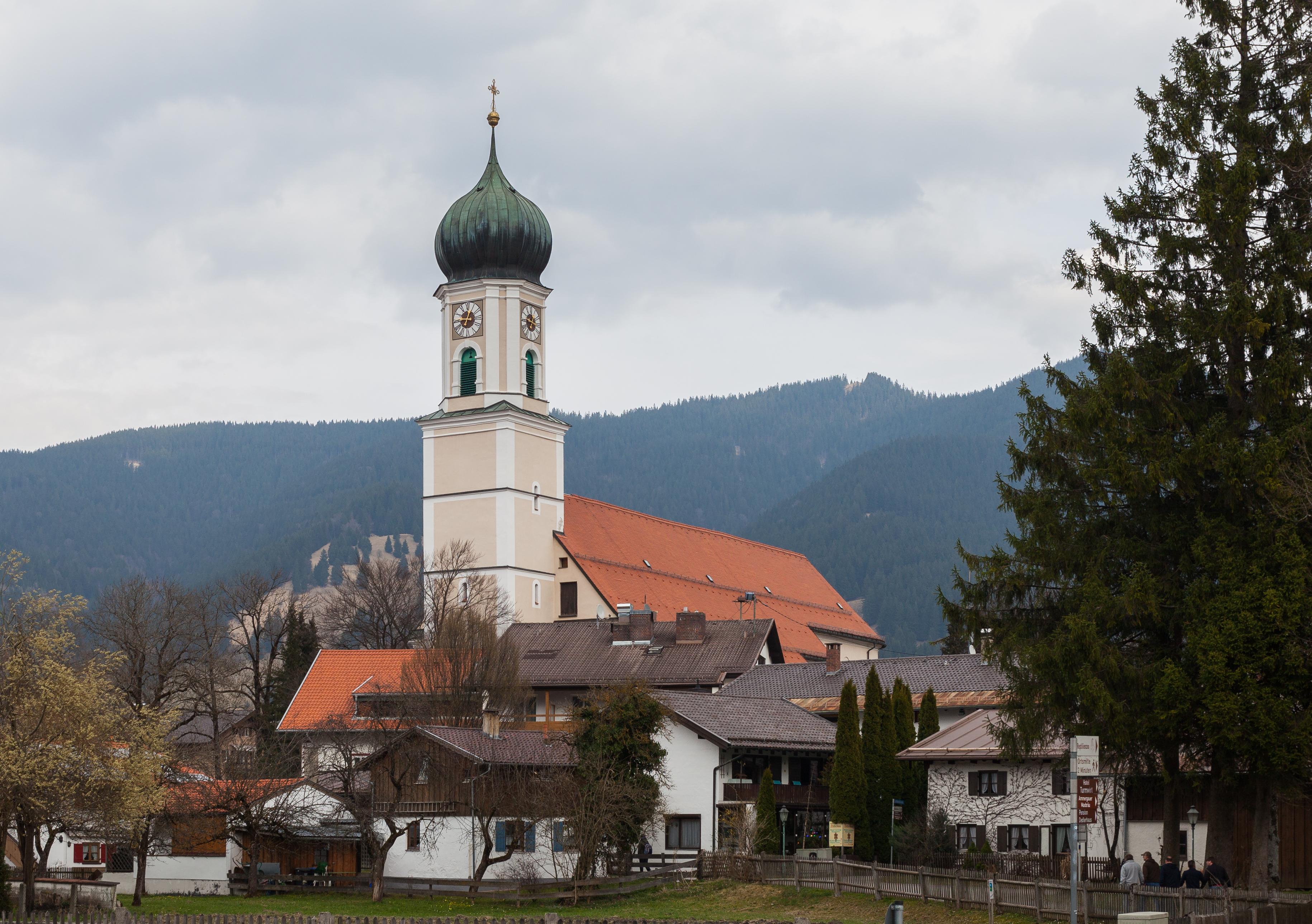 File:Iglesia de San Pedro y Pablo, Oberammergau, Baviera ...