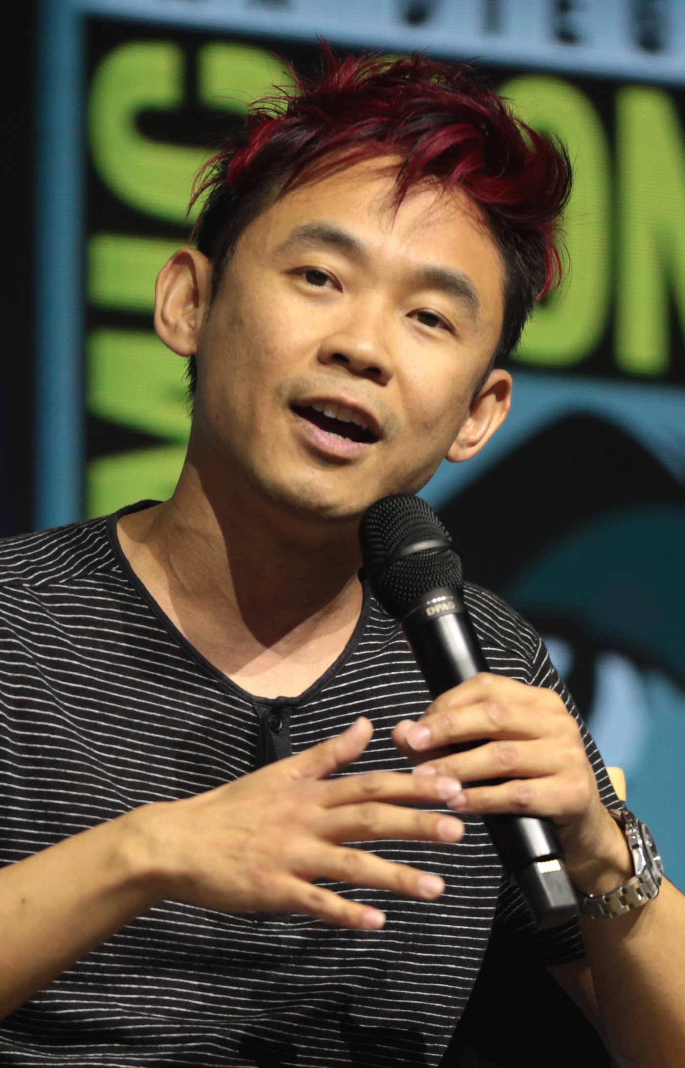 Il 41-anni, 168 cm alto James Wan in 2018 photo