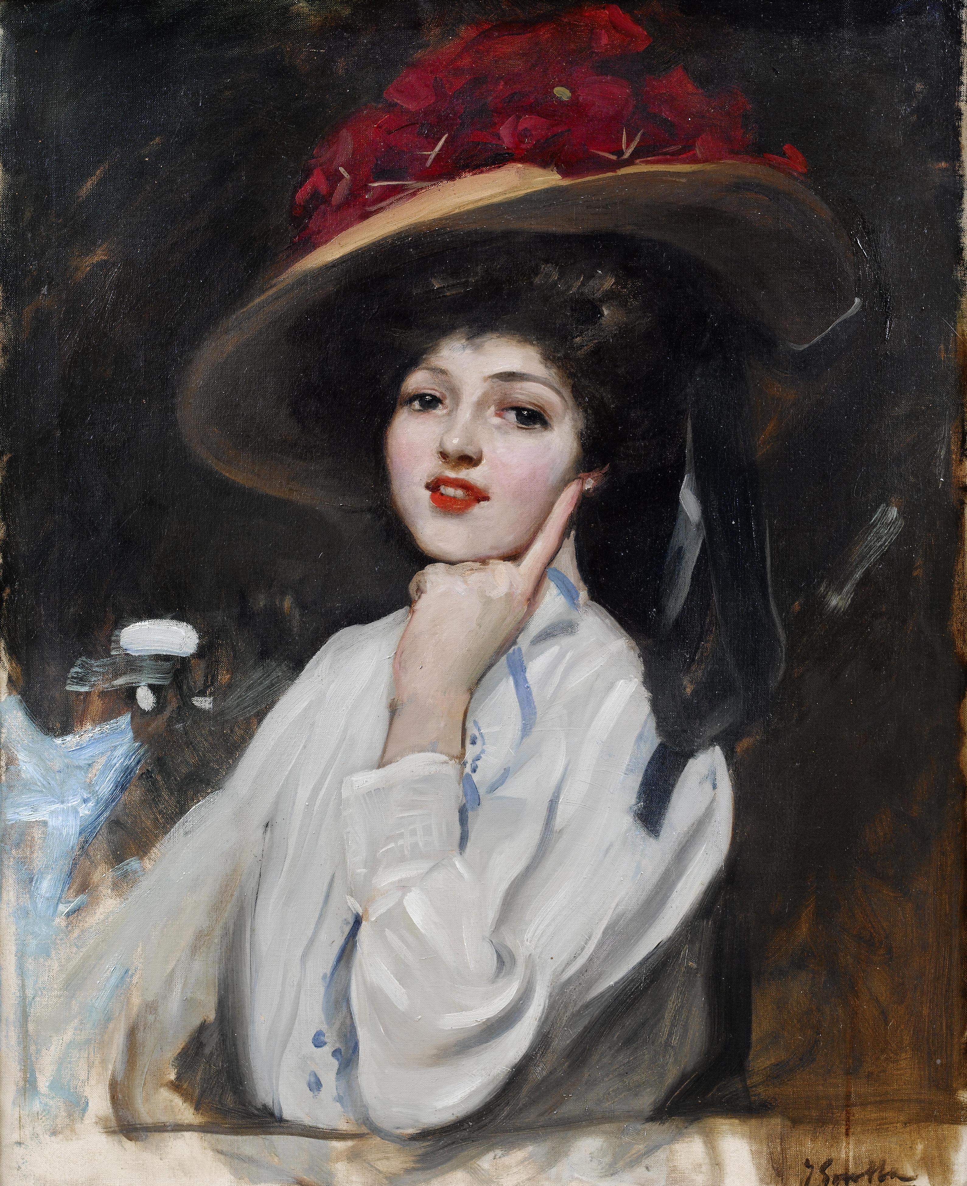 File:Joaquin Sorolla y Bastida - Retrato de una joven en ...