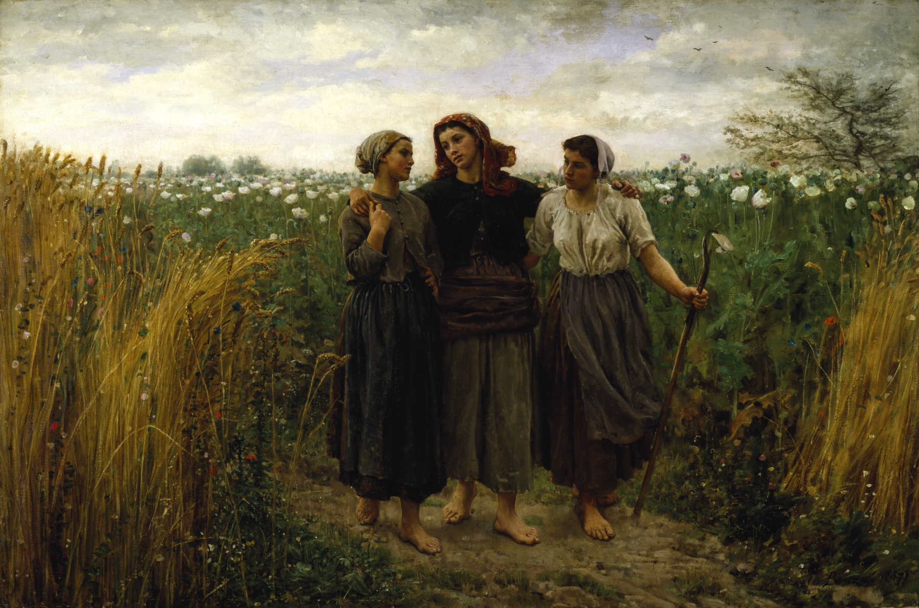 http://upload.wikimedia.org/wikipedia/commons/e/ef/Jules_Adolphe_Aim%C3%A9_Louis_Breton_-_Returning_from_the_Fields_-_Walters_3758.jpg