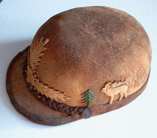 "Anosognosia - ""Romanian cap made from amadou (a type of bracket"