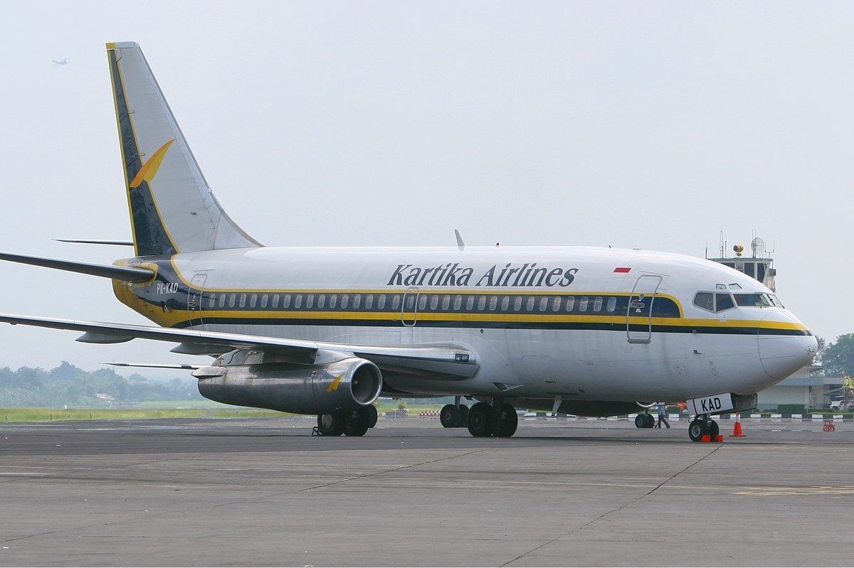 The airline Kartika Airlines (Kartika Airlines). Official sayt.2