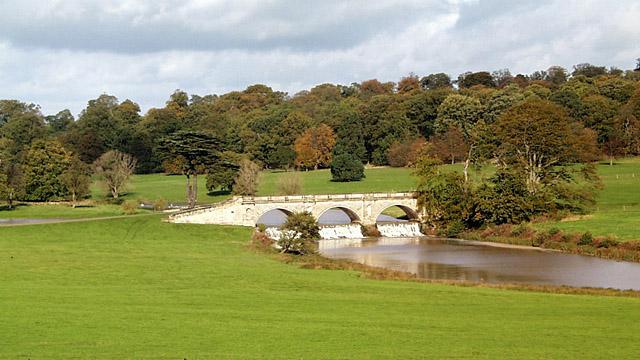 Kedleston Hall bridge - geograph.org.uk - 376735