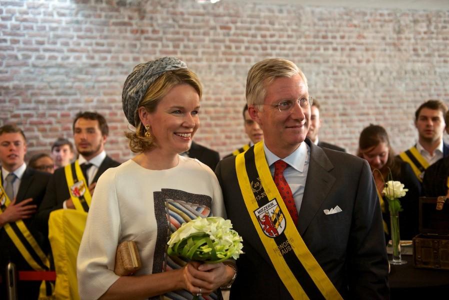 Koning Filip van België werd op 24 september 2013 Honoris Causa van Miezerik