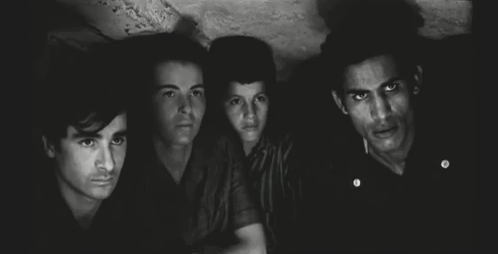 Italian-Algerian film The Battle of Algiers (1966) won the Golden Lion at the 27th Venice International Film Festival. La battaglia di Algeri screen.png