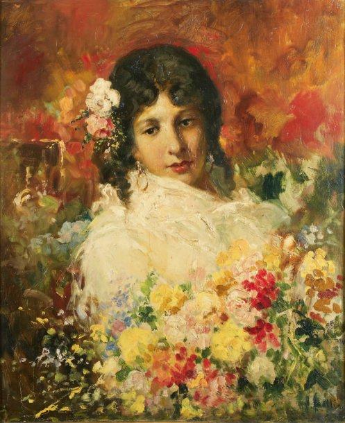 La belle Napolitaine - by V. Irolli -.jpg