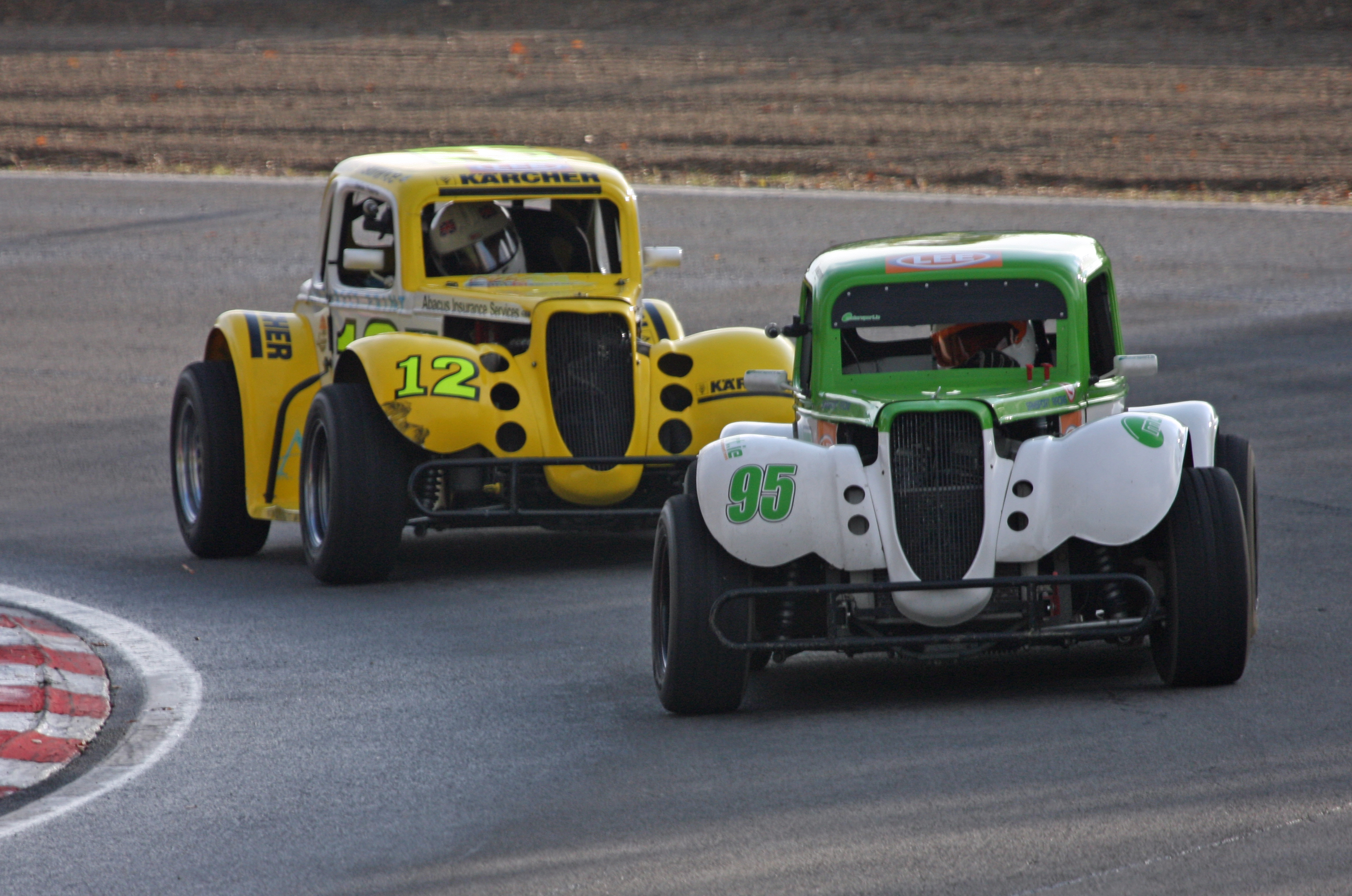 Legend Car Racing Curb Weight Horsepower