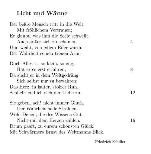 Latex Kompendium Gedichte Wikibooks Sammlung Freier