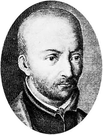 Luis de Molina. Grabado de F. G. Wolffgang