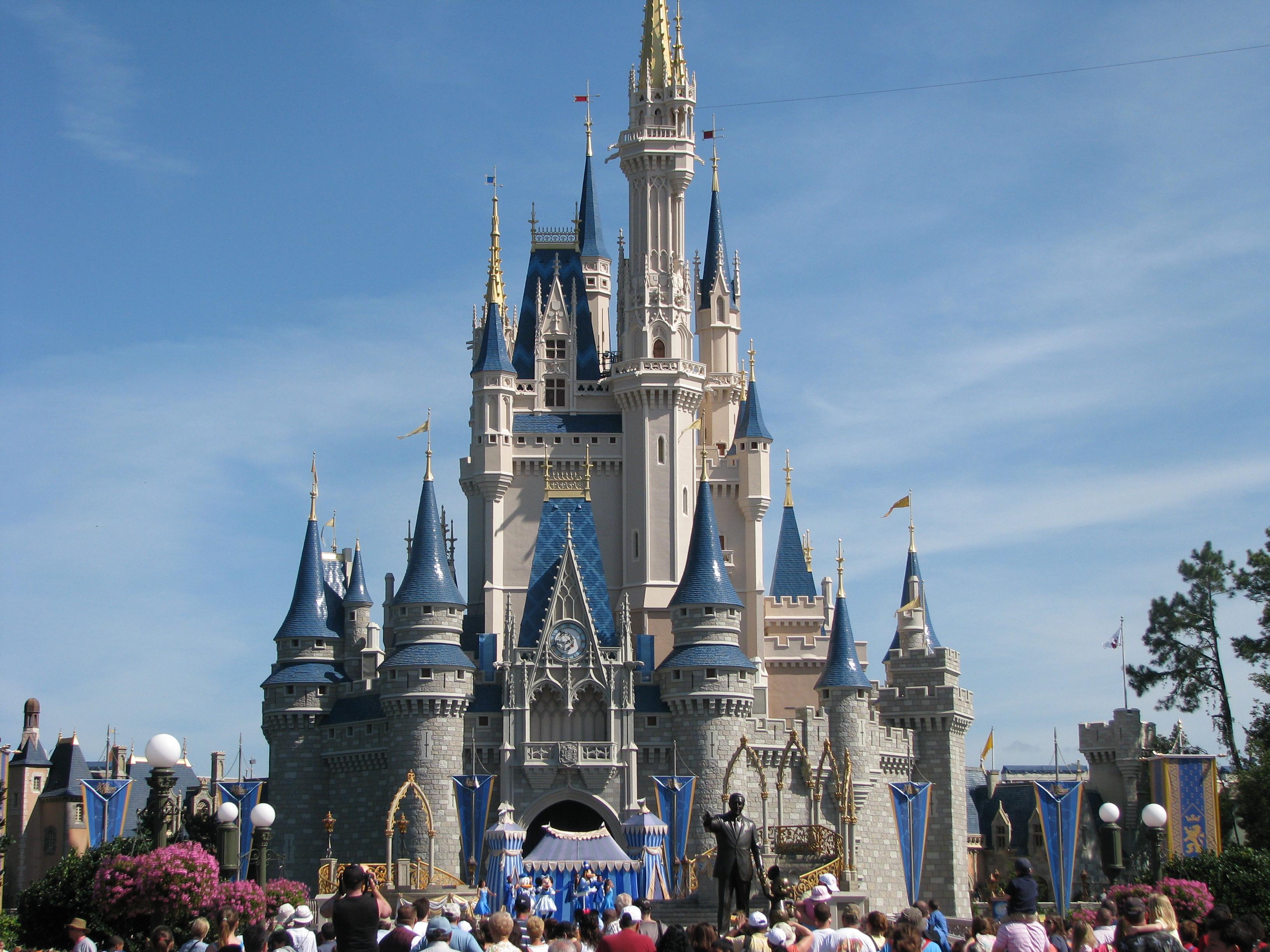 Disney World Castle Hotel Room